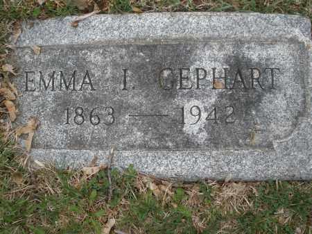 GEPHART, EMMA I. - Montgomery County, Ohio | EMMA I. GEPHART - Ohio Gravestone Photos