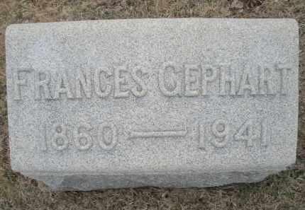 GEPHART, FRANCES - Montgomery County, Ohio | FRANCES GEPHART - Ohio Gravestone Photos