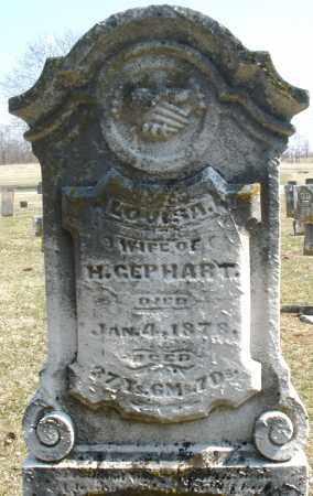 GEPHART, LOUISA - Montgomery County, Ohio   LOUISA GEPHART - Ohio Gravestone Photos