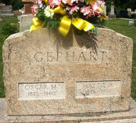 GEPHART, OSCAR M. - Montgomery County, Ohio | OSCAR M. GEPHART - Ohio Gravestone Photos