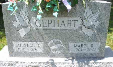 GEPHART, MABEL R. - Montgomery County, Ohio | MABEL R. GEPHART - Ohio Gravestone Photos