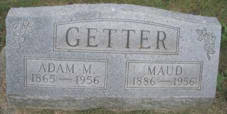 GETTER, ADAM M. - Montgomery County, Ohio | ADAM M. GETTER - Ohio Gravestone Photos
