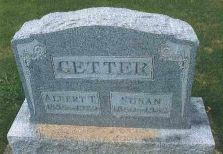 GETTER, SUSAN - Montgomery County, Ohio | SUSAN GETTER - Ohio Gravestone Photos