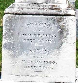 GETTER, OBADIAH - Montgomery County, Ohio | OBADIAH GETTER - Ohio Gravestone Photos