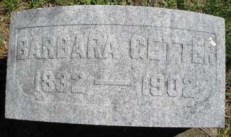 GETTER, BARBARA - Montgomery County, Ohio   BARBARA GETTER - Ohio Gravestone Photos
