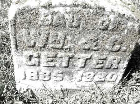 GETTER, DAUGHTER - Montgomery County, Ohio | DAUGHTER GETTER - Ohio Gravestone Photos