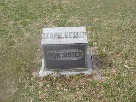 GETTER, LEAH H. - Montgomery County, Ohio | LEAH H. GETTER - Ohio Gravestone Photos