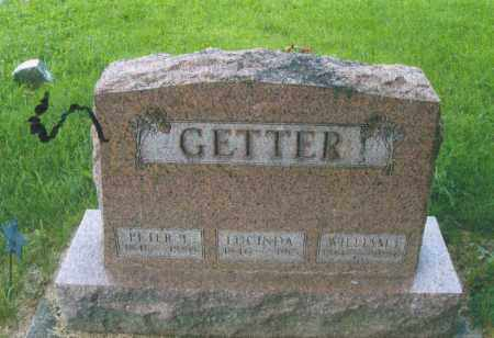 WEAVER GETTER, LUCINDA - Montgomery County, Ohio | LUCINDA WEAVER GETTER - Ohio Gravestone Photos