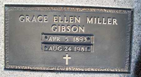 GIBSON, GRACE ELLEN - Montgomery County, Ohio | GRACE ELLEN GIBSON - Ohio Gravestone Photos