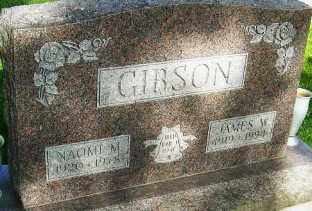 GIBSON, JAMES W - Montgomery County, Ohio   JAMES W GIBSON - Ohio Gravestone Photos