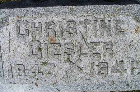 GIESLER, CHRISTINE - Montgomery County, Ohio   CHRISTINE GIESLER - Ohio Gravestone Photos