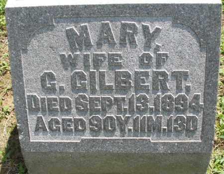 GILBERT, MARY - Montgomery County, Ohio | MARY GILBERT - Ohio Gravestone Photos