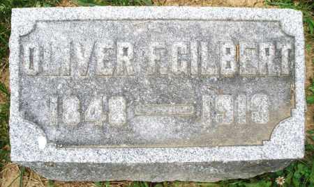 GILBERT, OLIVER F. - Montgomery County, Ohio | OLIVER F. GILBERT - Ohio Gravestone Photos