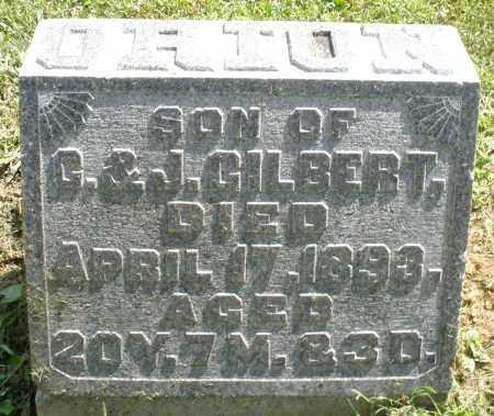 GILBERT, ORION - Montgomery County, Ohio | ORION GILBERT - Ohio Gravestone Photos