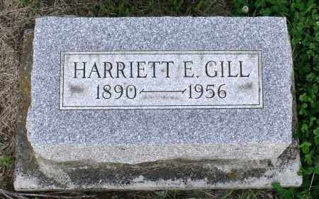 GILL, HARRIET E. - Montgomery County, Ohio | HARRIET E. GILL - Ohio Gravestone Photos