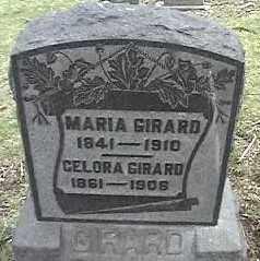GIRARD, MARIA - Montgomery County, Ohio   MARIA GIRARD - Ohio Gravestone Photos