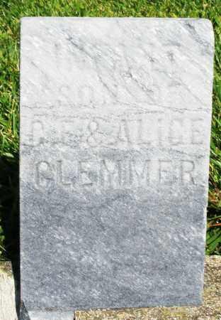 GLEMMER, INFANT SON - Montgomery County, Ohio | INFANT SON GLEMMER - Ohio Gravestone Photos