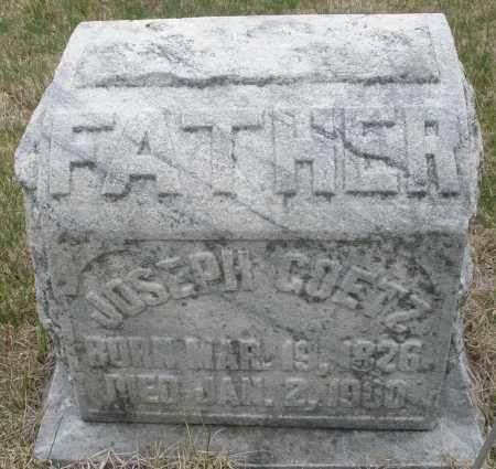 GOETZ, JOSEPH - Montgomery County, Ohio | JOSEPH GOETZ - Ohio Gravestone Photos