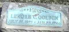 GOLDEN, LENORE C. - Montgomery County, Ohio | LENORE C. GOLDEN - Ohio Gravestone Photos