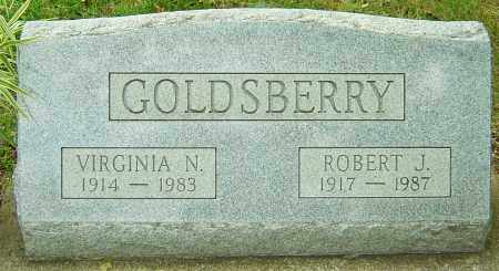 GOLDSBERRY, VIRGINIA N - Montgomery County, Ohio | VIRGINIA N GOLDSBERRY - Ohio Gravestone Photos