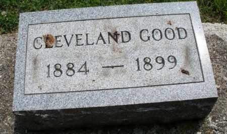 GOOD, CLEVELAND - Montgomery County, Ohio | CLEVELAND GOOD - Ohio Gravestone Photos