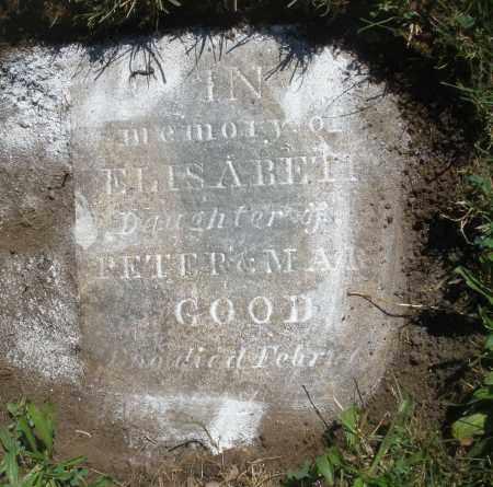 GOOD, ELISABETH - Montgomery County, Ohio | ELISABETH GOOD - Ohio Gravestone Photos