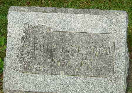 WILSON GOOD, RUTH JANE - Montgomery County, Ohio | RUTH JANE WILSON GOOD - Ohio Gravestone Photos