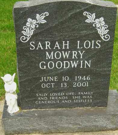 "MOWRY GOODWIN, SARAH LOIS ""SALLY"" - Montgomery County, Ohio | SARAH LOIS ""SALLY"" MOWRY GOODWIN - Ohio Gravestone Photos"