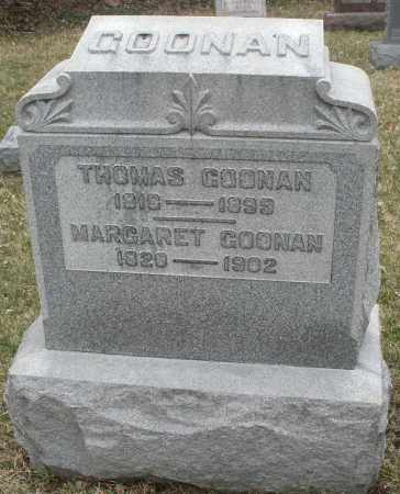 GOONAN, THOMAS - Montgomery County, Ohio | THOMAS GOONAN - Ohio Gravestone Photos