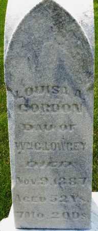 LOWREY GORDON, LOUISA A. - Montgomery County, Ohio | LOUISA A. LOWREY GORDON - Ohio Gravestone Photos