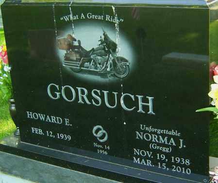 GORSUCH, NORMA JEAN - Montgomery County, Ohio | NORMA JEAN GORSUCH - Ohio Gravestone Photos