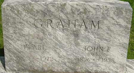 GRAHAM, JOHN E - Montgomery County, Ohio | JOHN E GRAHAM - Ohio Gravestone Photos