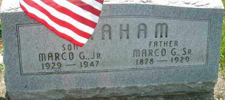 GRAHAM SR, MARCO G - Montgomery County, Ohio | MARCO G GRAHAM SR - Ohio Gravestone Photos