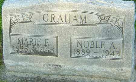 GRAHAM, MARIE FLORENCE - Montgomery County, Ohio | MARIE FLORENCE GRAHAM - Ohio Gravestone Photos