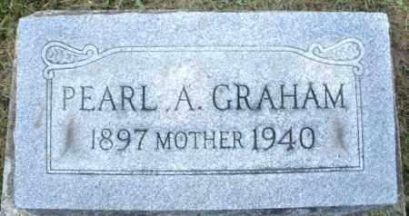GRAHAM, PEARL A. - Montgomery County, Ohio | PEARL A. GRAHAM - Ohio Gravestone Photos