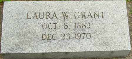 GRANT, LAURA W - Montgomery County, Ohio | LAURA W GRANT - Ohio Gravestone Photos