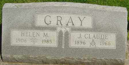 GRAY, JOSEPH CLAUDE - Montgomery County, Ohio | JOSEPH CLAUDE GRAY - Ohio Gravestone Photos