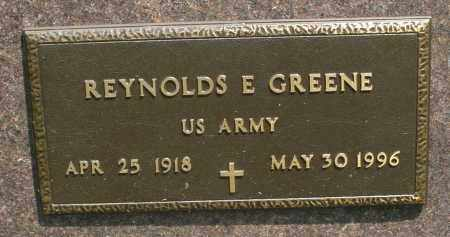 GREENE, REYNOLDS E. - Montgomery County, Ohio | REYNOLDS E. GREENE - Ohio Gravestone Photos
