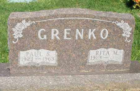 GRENCO, PAUL S. - Montgomery County, Ohio | PAUL S. GRENCO - Ohio Gravestone Photos