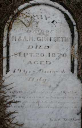 GRIFFETH (GRIFFITH), MARY - Montgomery County, Ohio | MARY GRIFFETH (GRIFFITH) - Ohio Gravestone Photos