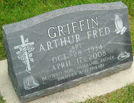 GRIFFIN, ARTHUR FRED - Montgomery County, Ohio | ARTHUR FRED GRIFFIN - Ohio Gravestone Photos