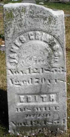 GRIMES, EDITH - Montgomery County, Ohio | EDITH GRIMES - Ohio Gravestone Photos