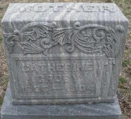 GROBY, CATHERINE - Montgomery County, Ohio | CATHERINE GROBY - Ohio Gravestone Photos