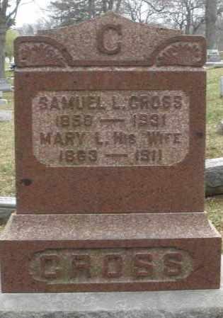 GROSS, MARY L. - Montgomery County, Ohio   MARY L. GROSS - Ohio Gravestone Photos