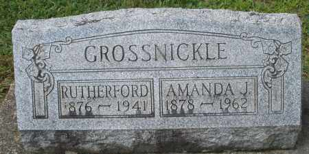 GROSSNICKLE, RUTHERFORD - Montgomery County, Ohio | RUTHERFORD GROSSNICKLE - Ohio Gravestone Photos