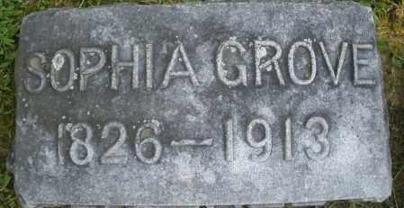 GROVE, SOPHIA - Montgomery County, Ohio   SOPHIA GROVE - Ohio Gravestone Photos