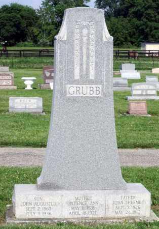 GRUBB, JOHN AUGUSTUS - Montgomery County, Ohio | JOHN AUGUSTUS GRUBB - Ohio Gravestone Photos
