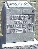 GRUBB, KATHERINE - Montgomery County, Ohio   KATHERINE GRUBB - Ohio Gravestone Photos