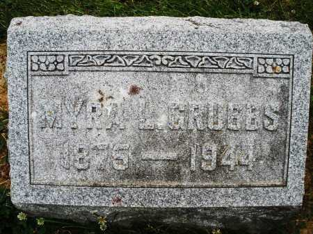 GRUBBS, MYRA L. - Montgomery County, Ohio | MYRA L. GRUBBS - Ohio Gravestone Photos