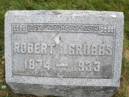 GRUBBS, ROBERT - Montgomery County, Ohio | ROBERT GRUBBS - Ohio Gravestone Photos